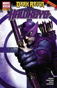 Hier klicken, um das Cover von Dark Reign: Hawkeye zu vergrößern