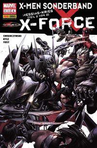 Hier klicken, um das Cover von X-Men Sonderband: X-Force 4 zu vergrößern