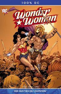 Hier klicken, um das Cover von 100% DC 27: Wonder Woman - Der Aufstieg des Olympiers! zu vergrößern