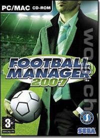 Hier klicken, um das Cover von Football Manager 2007 zu vergrößern