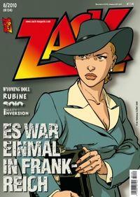 Hier klicken, um das Cover von ZACK 134 (Nr. 08/2010) zu vergrößern