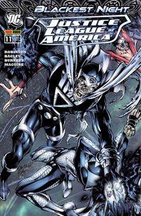 Hier klicken, um das Cover von Justice League of America 11: Blackest Night zu vergrößern