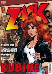 Hier klicken, um das Cover von ZACK 135 (Nr. 09/2010) zu vergrößern