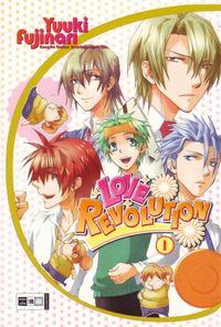 Hier klicken, um das Cover von Love Revolution 1 zu vergrößern