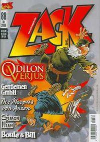 Hier klicken, um das Cover von Zack 88 zu vergrößern