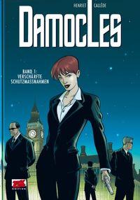 Hier klicken, um das Cover von Damocles 1 zu vergrößern