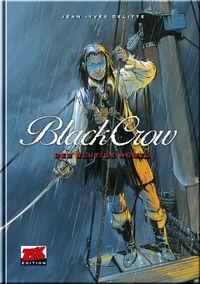 Hier klicken, um das Cover von Black Crow 1: Der blutige Hue~gel zu vergrößern