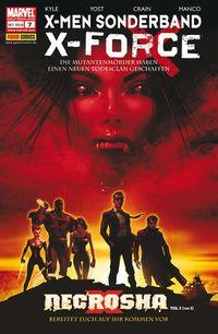 Hier klicken, um das Cover von X-Men Sonderband: X-Force 7 - Necrosha 2 (von 2) zu vergrößern