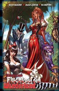 Hier klicken, um das Cover von Wonderland 3: Flucht aus dem Wunderland zu vergrößern