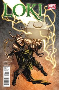 Hier klicken, um das Cover von 100% Marvel 55: Thor - Loki zu vergrößern