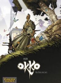 Hier klicken, um das Cover von Okko 3: Das Buch der Luft zu vergrößern