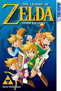 Hier klicken, um das Cover von The Legend of Zelda 6: Four Swords zu vergrößern