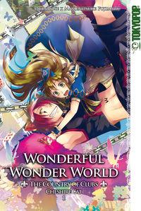 Hier klicken, um das Cover von Wonderful Wonder World - The Country of Clubs 3: Cheshire Cat 1 zu vergrößern