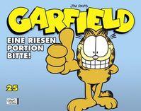 Hier klicken, um das Cover von Garfield SC 25: Eine Riesen Portion bitte zu vergrößern
