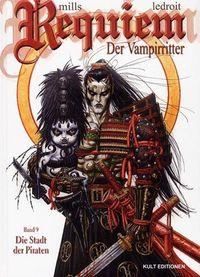Hier klicken, um das Cover von Requiem - Der Vampirritter 9: Die Stadt der Piraten  zu vergrößern