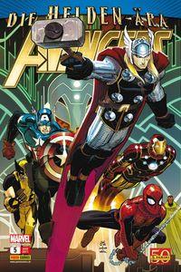 Hier klicken, um das Cover von Avengers 5 zu vergrößern