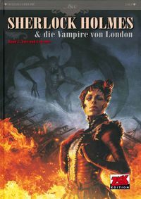 Hier klicken, um das Cover von Sherlock Holmes 2: Tote und Lebende zu vergrößern