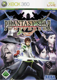 Hier klicken, um das Cover von Phantasy Star Universe zu vergrößern