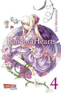 Hier klicken, um das Cover von Pandora Hearts 4  zu vergrößern