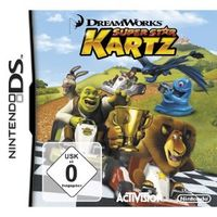Hier klicken, um das Cover von DreamWorks Superstar Kartz [DS] zu vergrößern