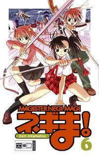 Hier klicken, um das Cover von Magister Negi Magi 6 zu vergrößern