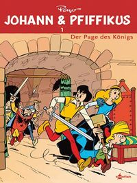 Hier klicken, um das Cover von Johann & Piffikus 1: Der Page des Koe~nigs zu vergrößern