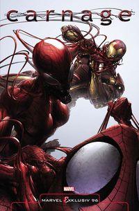 Hier klicken, um das Cover von Marvel Exklusiv 96: Carnage - Familienfehde (SC) zu vergrößern