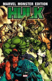 Hier klicken, um das Cover von Marvel Monster Edition 40: Hulk 1 zu vergrößern