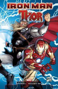 Hier klicken, um das Cover von Marvel Exklusiv 98: Iron Man/Thor SC zu vergrößern