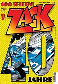 Hier klicken, um das Cover von Zack 154 zu vergrößern