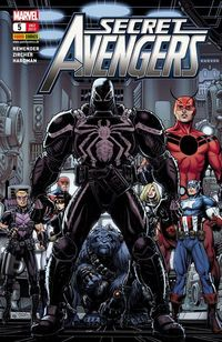 Hier klicken, um das Cover von Secret Avengers 5 zu vergrößern