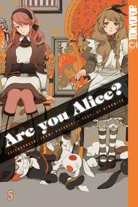 Hier klicken, um das Cover von Are you Alice? 5 zu vergrößern