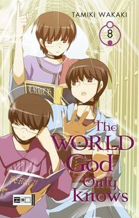 Hier klicken, um das Cover von The World God Only Knows 8 zu vergrößern