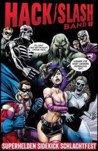 Hier klicken, um das Cover von Hack/Slash 8: Superhelden Sidekick Schlachtfest  zu vergrößern