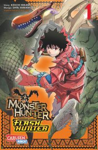 Hier klicken, um das Cover von Monster Hunter Flash Hunter 1 zu vergrößern