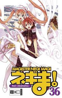 Hier klicken, um das Cover von Magister Negi Magi 36 zu vergrößern