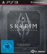 Hier klicken, um das Cover von The Elder Scrolls V: Skyrim - Legendary Edition [PS3] zu vergrößern