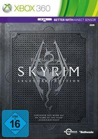 Hier klicken, um das Cover von The Elder Scrolls V: Skyrim - Legendary Edition [Xbox 360] zu vergrößern