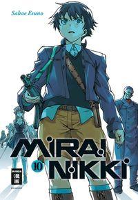 Hier klicken, um das Cover von Mirai Nikki 10 zu vergrößern
