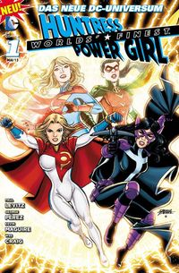 Hier klicken, um das Cover von Worlds Finest Huntress & Power Girl 1 zu vergrößern