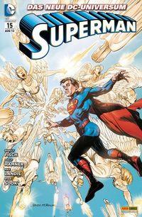 Hier klicken, um das Cover von Superman 15 zu vergrößern