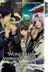 Hier klicken, um das Cover von Wonderful Wonder World - The Country of Clubs: Black Lizard 1 zu vergrößern