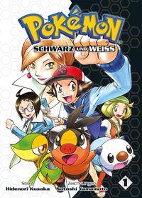 Hier klicken, um das Cover von Pok�mon Schwarz Und Weiss 1 - Der Manga zu vergrößern