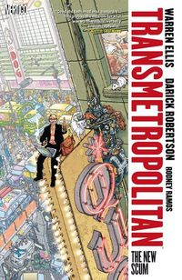 Hier klicken, um das Cover von Transmetropolitan 2 zu vergrößern