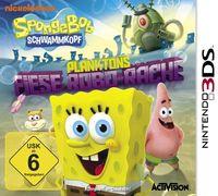 Hier klicken, um das Cover von Spongebob Schwammkopf: Planktons fiese Robo-Rache (3DS) zu vergrößern