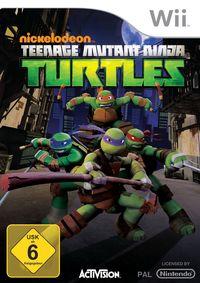 Hier klicken, um das Cover von Teenage Mutant Ninja Turtles (Wii) zu vergrößern