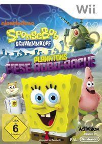 Hier klicken, um das Cover von Spongebob Schwammkopf: Planktons fiese Robo-Rache (Wii) zu vergrößern