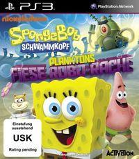 Hier klicken, um das Cover von Spongebob Schwammkopf: Planktons Fiese Robo-Rache (PS3) zu vergrößern
