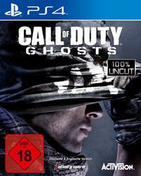Hier klicken, um das Cover von Call of Duty: Ghosts (PS4) zu vergrößern