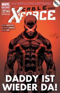 Hier klicken, um das Cover von Cable und X-Force 2 zu vergrößern
